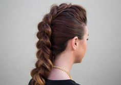 Follow my easy Dutch Braid Faux Hawk hairstyle for all my edgy friends. Second YouTube Channel: https://www.youtube.com/user/HairstyleConfessions Connect wit...