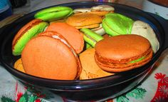 homemade delicious macaroons