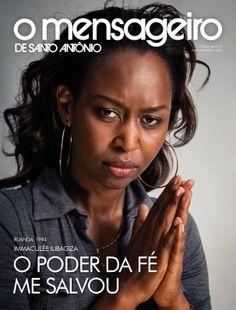 Capa Revista O Mensageiro de Santo Antônio Março de 2014.