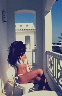 Summer, beach body