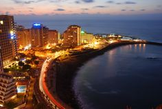 Four or so hour drive from the city of Caracas. Tourists come here from all over, so not only are there awesome beaches, but great nightlife. Sierra Nevada, Tenerife, Merida, Great Places, Beautiful Places, Holiday Booking, Beach Holiday, Family Holiday, Santa Cruz