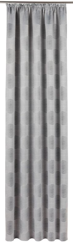 Details:  Die angegebenen Maße sind Stoffmaße. Am Fenster fertig dekoriert reduziert sich die Breite um ca. die Hälfte.,  Design:  Glatte Oberfläche, Gemustert, Bedruckt,  Material:  100 % Polyester,  Pflegehinweis:  waschbar bei 30 Grad, Schonwaschgang, pflegeleicht,  Wissenswertes:  Kleine Fenster lassen Sie größer wirken indem Sie die Vorhänge rechts und links über das Fenster hinaus dekorie...