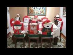 Cubre sillas Papa Noel - YouTube