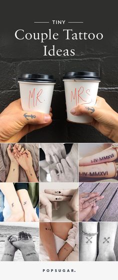 Pin for Later: 37 Matching Tattoos For Couples Who Want to Make a Small Statement Pin it!
