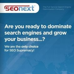 Are you ready to dominate search engines and grow your business...?