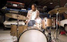 Steve Jordan, Drumming in Corvette garage.