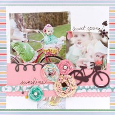 So pretty! Dear Lizzy... :) I'm loving the Rosie's on this page with the cute buttons and cute fabric, gonna have to make some for the girls