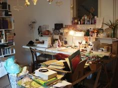 Workspace of Folksy Seller, Bookity http://folksy.com/shops/Bookity