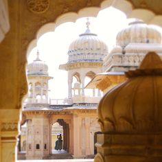 Temple of Galtaji; Jaipur, India.