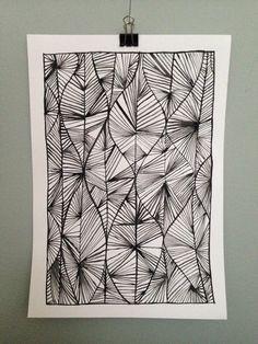 Black and White study. Aquarelle on 300 g paper. 20x30 cm.