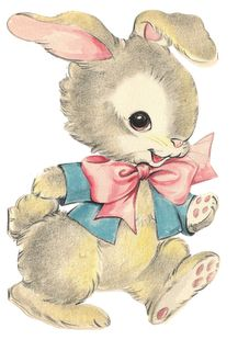 vintage easter bunny clipart | Nanalulu's Musings: Some Vintage EASTER Graphics Images To Share