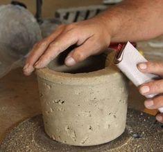Maceteros con estilo!! Cómo hacer macetas decorativas con cemento.