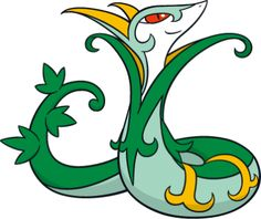 Serperior. Ryan gave it to him as a 10th birthday present