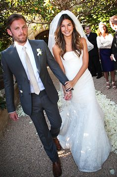 100 Memorable Celebrity Wedding Moments - Caleb Followill & Lily Aldridge from #InStyle  83