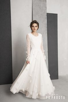 flower wedding dresse