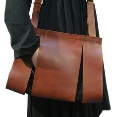 SPLIT schoudertas bruin (Maria Hees)