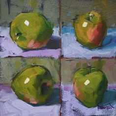 Cathleen Rehfeld • Green Warhol Apples