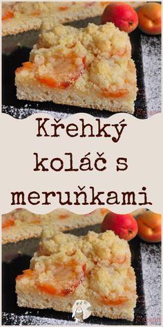 Křehký koláč s meruňkami