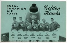 Golden Hawks Postcard (English Version)
