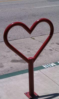 I heart bike racks