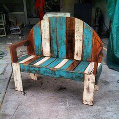Outdoor Pallet Bench Designs | 99 Pallets