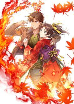 Heiji×Kazuha : から紅のラブレター