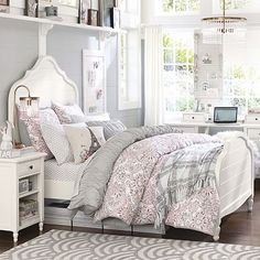 17 Awesome Rustic-Romantic Girls\' Room Ideas   Pinterest   Rustic ...