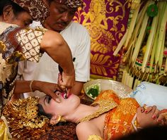 Tooth-filing ceremonies which often called Metatah or Mepandes are where teenagers have to mark their journey into adulthood.