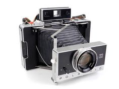 *GORGEOUS* POLAROID 195 INSTANT FILM CAMERA $795