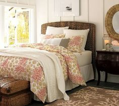 Maybe #wicker? $399 for the full at Pottery Barn. #bedroom