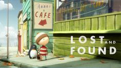lost and found- Oliver Jeffers. Makes me cry every time I watch it