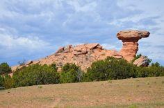 Camel Rock outside Santa Fe