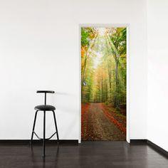 Forest Path Door Mural - Wallums.com