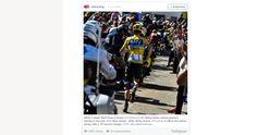 Maillot jaune sans vélo... Froome est un grand comique. #TDF16  DE CHOSES ET D'AUTRES : Un grand Tour (3/3)