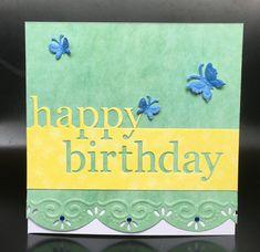 Memory box die Birthday Card by Fe-Fe