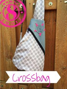 Crossbag, Rucksack, Taschenspieler 2, Sew Along, by malamü