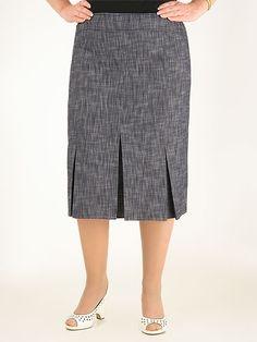 Frock Fashion, Skirt Fashion, Fashion Outfits, Work Skirts, Full Skirts, Dress Skirt, Midi Skirt, African American Fashion, Corporate Wear