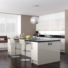 White Kitchen Units Black Worktop white kitchen, oak worktop | ideas for the house | pinterest