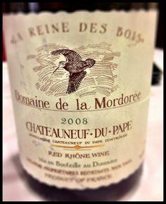 El Alma del Vino.: Domaine de la Mordorée La Reine des Bois Chateauneuf-du-Pape 2008.