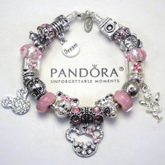 >>>Pandora Jewelry OFF! >>>Visit>> Authentic Pandora Bracelet Pink Love Mickey Mouse Wish Crystal Murano Charm Bead in Jewelry Watches Fashion Jewelry Charms Charm Bracelets Pandora Bracelet Pink, Pandora Jewelry Box, Pandora Beads, Pandora Bracelet Charms, Charm Bracelets, Jewelry Watches, Cute Jewelry, Charm Jewelry, Charm Bead