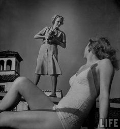 Nina Leen is easily one of my favorite LIFE photographers.  She was one of the first female photographers for LIFE and has a prolific body of work.   You've probably noticed I've featured her work ...