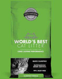 Worlds Best Cat Litter Natural Cat Litter, Best Cat Litter, Litter Box, Big Cats, Cool Cats, Cat Memorial, Plant, Easy