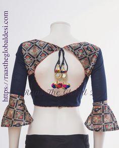 READYMADE SAREE BLOUSES ONLINE USA Saree Jacket Designs, New Saree Blouse Designs, Blouse Designs Catalogue, Simple Blouse Designs, Stylish Blouse Design, Saree Blouse Patterns, Blouse Styles, Designer Blouse Patterns, Designs For Dresses