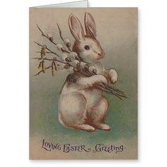 Vintages Osterhasen-Kaninchen