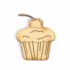 Cupcake pour embellisement scrapbooking