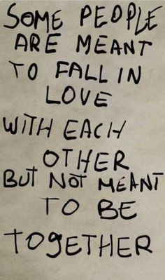 Not sure I get this. If two people fall in love and its real love... nothing will stop them from being together.