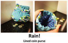 Rain! Coin Purses, Lunch Box, Rain, Collection, Coin Wallet, Coin Purse, Bento Box, Rain Photography