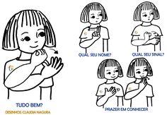 Vamos Aprender Libras? | Centro de Educação para Surdos Rio Branco Sobre Libra, Sign Language Book, Libra Love, Snoopy Love, Deaf Culture, Brazil, Comics, Learning, Gabriel