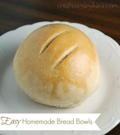 ** Have to try this!! Creations by Kara: Easy Bread Bowl Recipe