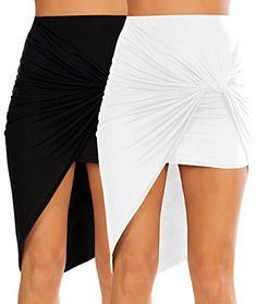dollhouse Womens Bridgetown Denim Skirt Skirt